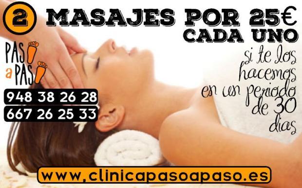 oferta 2 masajes em 30 dias