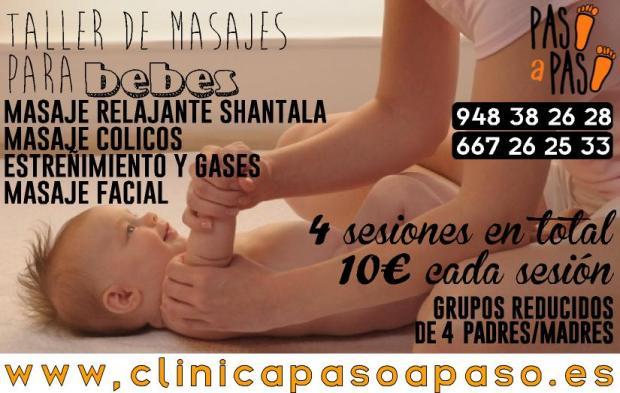 taller masaje para bebes especificado