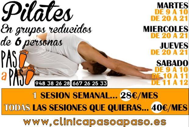 pilates con horarios 2015 - 2016